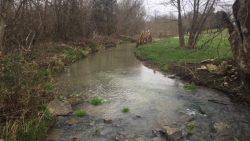 Creek, eastern boundary